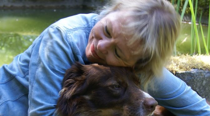 Carole Herder with her beloved dog, Danny Boy