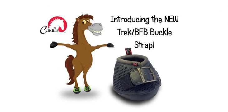 NEW Trek/BFB Buckles Straps Give Even More Choice to Cavallo Riders!